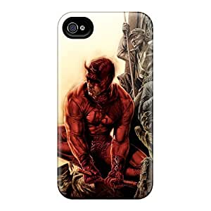 LavernaCooney Iphone 4/4s Shock-Absorbing Hard Cell-phone Case Provide Private Custom Realistic Daredevil I4 Skin [PiA13989lCFf]