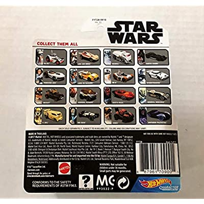 Hot Wheels Star Wars R2-Q5 Vehicle: Toys & Games
