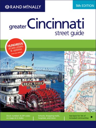Rand McNally 5th Edition Greater Cincinnati street guide
