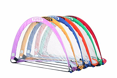 PUGG THE SIX FOOTER PORTABLE SOCCER GOAL COLOR PACK-SET OF 6