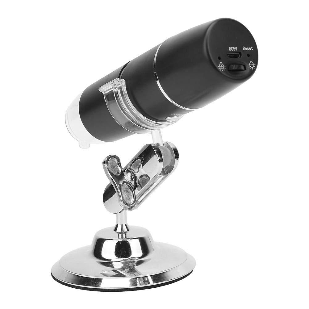 Microscopio digital inalámbrico, 1000X WIFI Microscopio industrial digital portátil Cámara de inspección USB HD de mano Compatible con Android, Windows, IOS