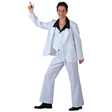 1a62a9b63c01 Saturday Night Fever John Travolta Fancy Dress Costume: Amazon.co.uk:  Clothing