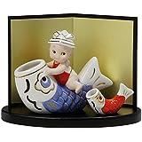 五月人形 ローズオニールキューピー五月人形こいのぼり かわいいコンパクト飾り