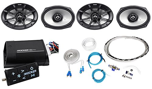 Instl Car Kit - Package:(2 Pairs)Kicker 40PS694 6x9