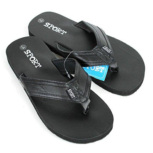 Heren Sporten Strand Zwembad Indoor Outdoor Slippers Sandalen Slippers Zwart