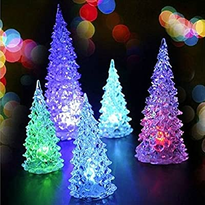 Multi-color Changing LED Christmas Tree Decoration Light Xmas Night Light