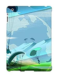 High Quality Eatcooment Paragliding Skin Case Cover Specially Designed For Ipad - 2/3/4