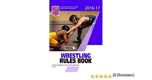 2016-2017 nfhs wrestling rule book