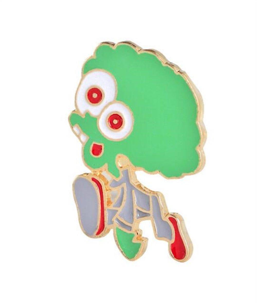 Enamel Pin Badge Souvenir Cartoon Alien Personnalité Broche Badge Vêtements Accessoires (Multicolore) TOUYOUIOPNG