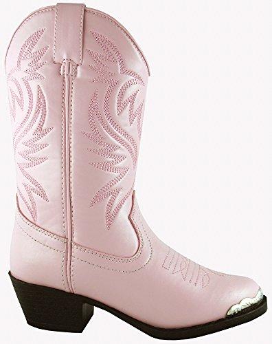 Smoky Children's Kid's Lt. Pink Western Cowboy Boot