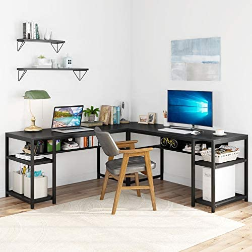 Tribesigns 70 Inch Modern L-Shaped Desk Review