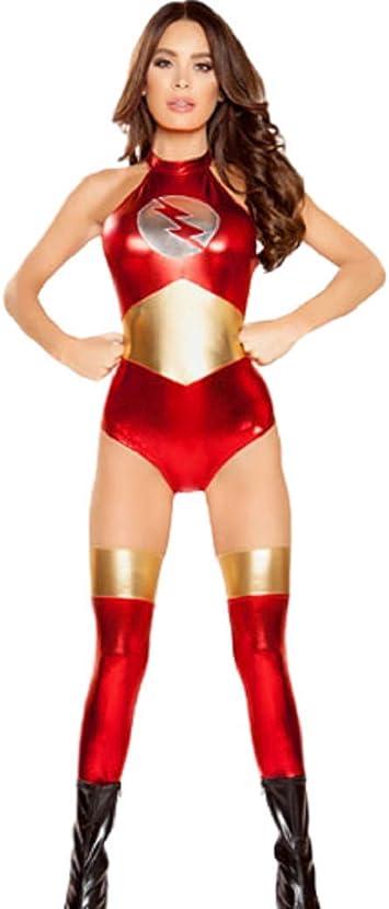 GGT Boutique Top Totty Flash Disfraz de Mujer con calcetín: Amazon ...