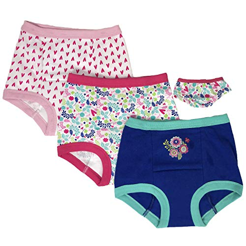 Hasbro Girls' Toddler Baby Alive 3-Pack Training Pant with Matching Pair for Doll, 2T ()