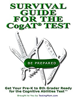 amazon com testing survival guide for cogat practice for