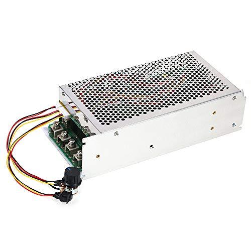 10v 50v Heater - Festnight DC 10V-50V 5000W 200A Programmable DC Motor Adjustable Speed Controller Regulator PWM Reversible Control
