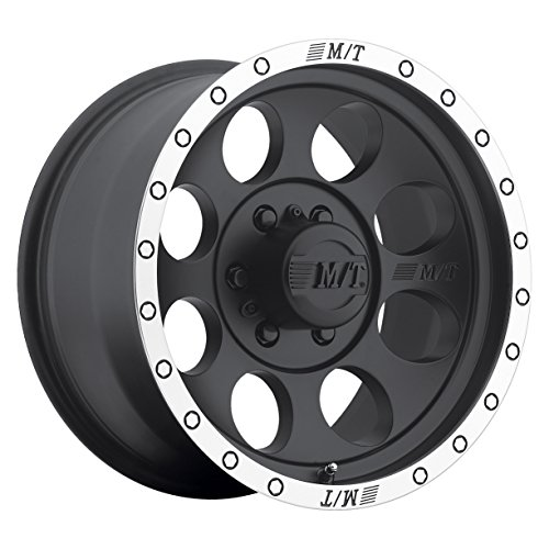Mickey Thompson Classic Baja Lock Matte Black Wheel with Machined Finish (17x9