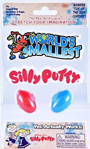Worlds Smallest Silly Putty Egg