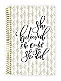 "bloom daily planners 2018-2019 Academic Year Day Planner - Monthly and Weekly Datebook/Calendar Book - Inspirational Dated Agenda Organizer - (August 2018 - July 2019) - 6"" x 8.25"" - Writefully His"