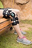 Z1 K6 Knee Brace - Best Knee Brace for Men & Women - Knee Support for Running & Sports/ACL & Ligament Injuries/OA Arthritis/Knee Joint Pain Relief - for Best FIT Check Sizing Chart (PIC#2&3)