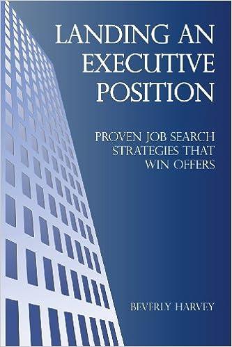 Book Landing an Executive Position