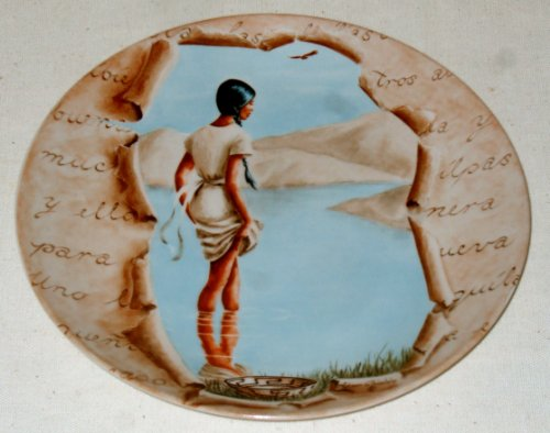 Collector Plate Designed by Adam Shields, the First Edition in the Series