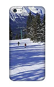 New Fashionable Kathewade Dhgrwy-4663-glvbtpg Cover Case Specially Made For Iphone 5c(skiing In Mountains)