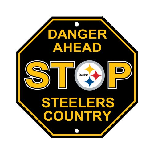 Fremont Die NFL Pittsburgh Steelers Stop Sign
