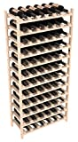 Wine Racks America Ponderosa Pine 72 Bottle Stackable. Unstained
