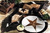 Cowhide Star Western Table Runner - Western Dining Tableware