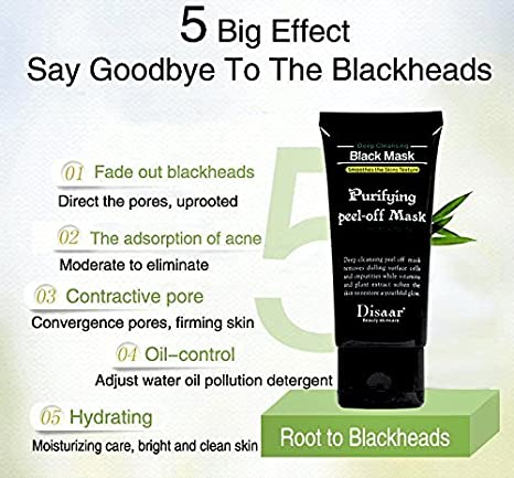 Buy Pamty Blackhead Remover Mask, Black Peel Off Charcoal