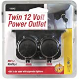 Custom Accessories 10242 Auxiliary Twin Power Outlet