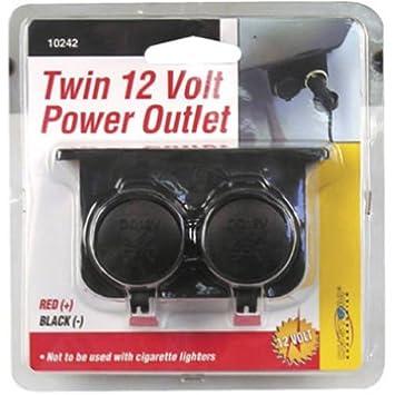 Amazon custom accessories 10242 auxiliary twin power outlet custom accessories 10242 auxiliary twin power outlet sciox Gallery