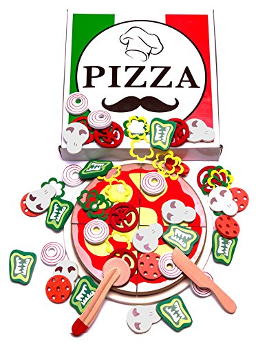 Pizza Party Kids Play toppings product image