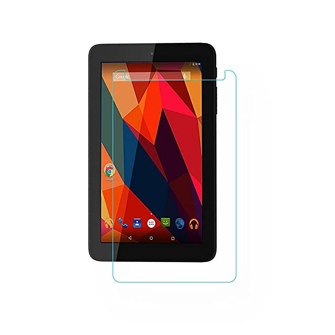 Colorcase Tempered Glass Screenguard for Micromax Canvas Tab P681