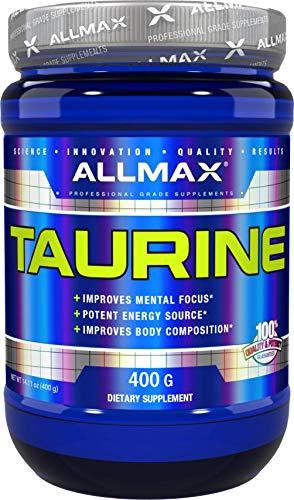 Muscle Volumizer Cell (ALLMAX Nutrition Taurine Powder, 400g)
