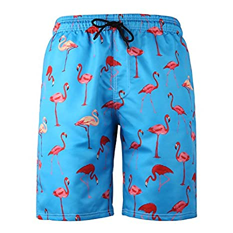 Ageaoa Dry Swim Shorts for Men Swimming Beach Trunks Quick Dry Swimming Beach Surf Board Short with Pockets
