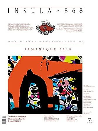 Almanaque 2018 (Ínsula n° 868, abril de 2019) (Almanaques) eBook: AA. VV.: Amazon.es: Tienda Kindle