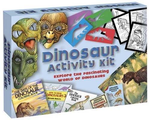 Dinosaur Activity Kit (Dover Fun Kits) (Fun Kits Dover)