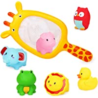 Richgv Kids Bath Toys Non-Toxic Funny Bathtub Toys Early Educational Toys Gifts for Boys Girls Toddlers Swimming Pool…