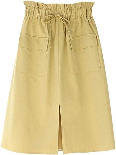 Faldas largas Algodon Mujer/Faldas largas Lino Verano Vintage ...