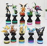 10pcs/set Pokemon Figures PVC Action Figure Collection Model Toys Dolls Classic Toys approx 8 - 9cm