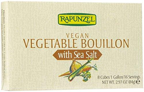 Rapunzel Organic Vegetable Bouillon w/ Sea Salt, 2.97 oz (Bouillon Organic Rapunzel)