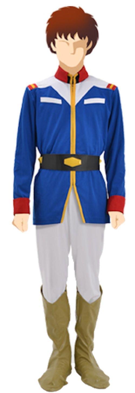 [Oficial] Mobile Suit Gundam: uniforme azul federacin de la tierra de los hombres del ejrcito ver tamao:. Mens M (japn importacin)