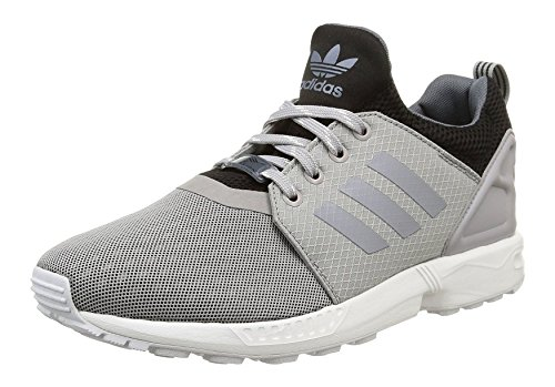 adidas Originals ZX Flux NPS updt Herren Low-Top Grau/Schwarz