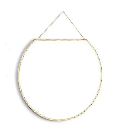 ece80ecbafd1 Amazon.com  Makeup Mirrors Nordic Hanging Mirror Modern Decorative ...