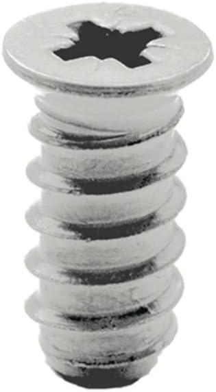 SECOTEC System Screws Countersunk Head 6.3 x 11 mm Nickel-Plated Steel Pack of 20