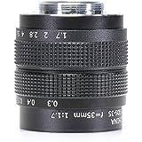 35mm F1.7 Television TV Lens/CCTV Lens For 16mm C Mount Camera (C mount Lens)