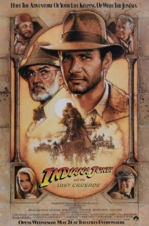 Indiana Jones and the Last Crusade Movie Poster Mini