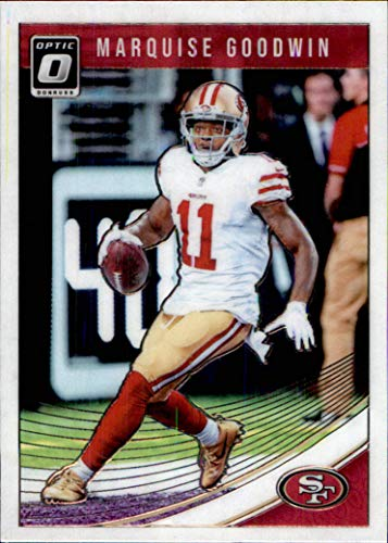 (2018 Donruss Optic #88 Marquise Goodwin SAN FRANCISCO 49ers TEXAS LONGHORNS (Box185MP))