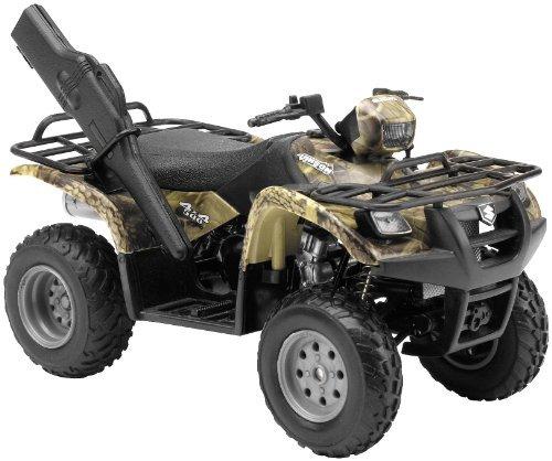 Suzuki Vinson Auto 500 4x4 Sand 1:12 Scale Diecast ATV By Newray from New-Ray